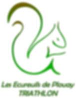Logo Ecureuils e Plouay Triathlon