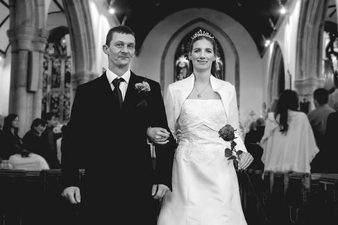 Church Wedding Photographer | Saltash, Cornwall
