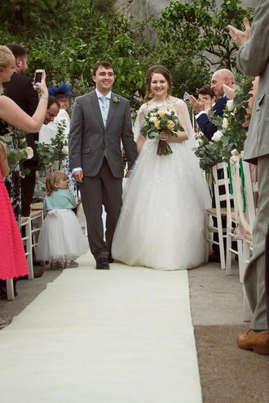 Wedding Photographer   Eden Project, Cornwall UK