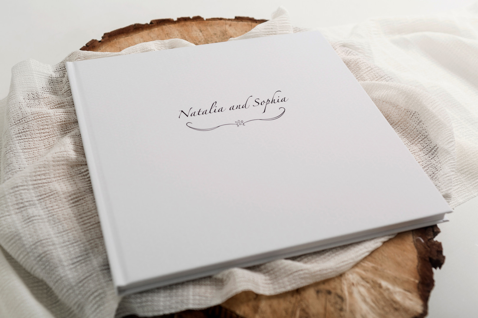 Client photo album for family photo shoots - Oh So Peachy Photography