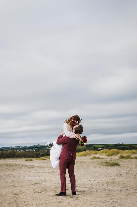 Elopment Wedding Photographer | Cornwall, UK