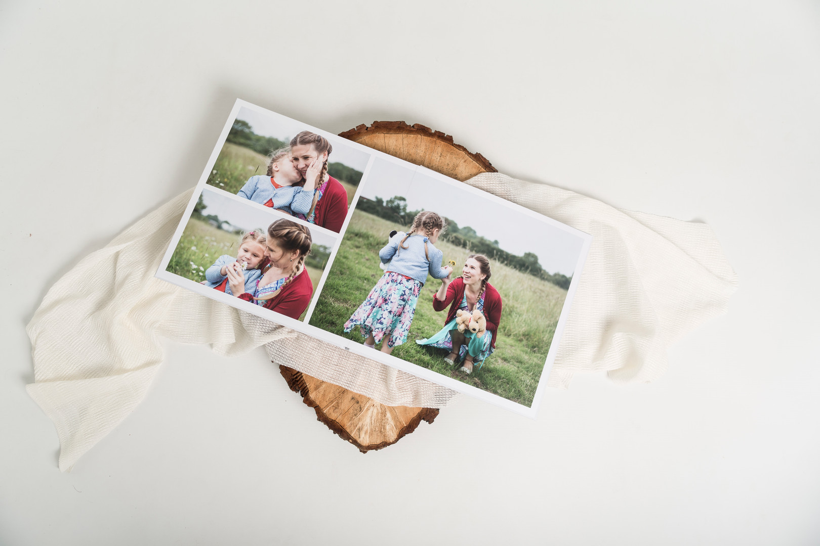 beautiful photo album for family and baby photo shoots