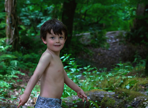 Family Photographer | A Pirate Life | Plym Bridge woods, Plymouth.