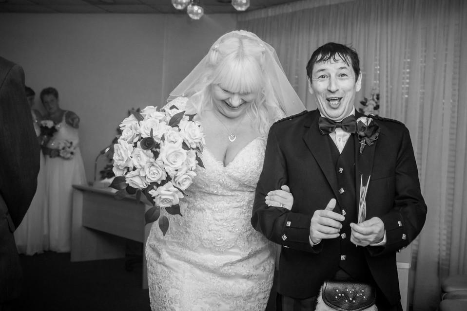 Wedding Photographer   Registry Office Plymouth, Devon