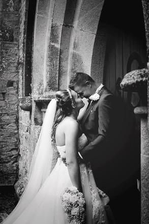 Church Wedding Photographer   Cornwall UK