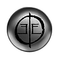metal-concave-button-icon-template-textu