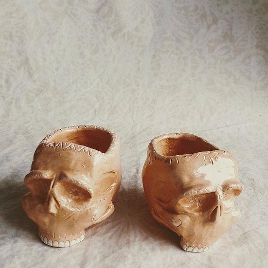 Sugar Skull Bebé Coral