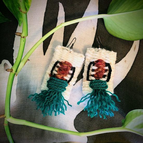 Tehya Woven Earrings