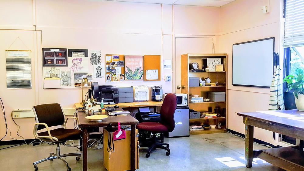 (After) Mrs. Guerrero's Desk