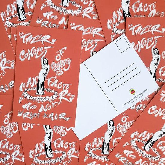 Wise Women Series: Rupi Kaur / Postcard