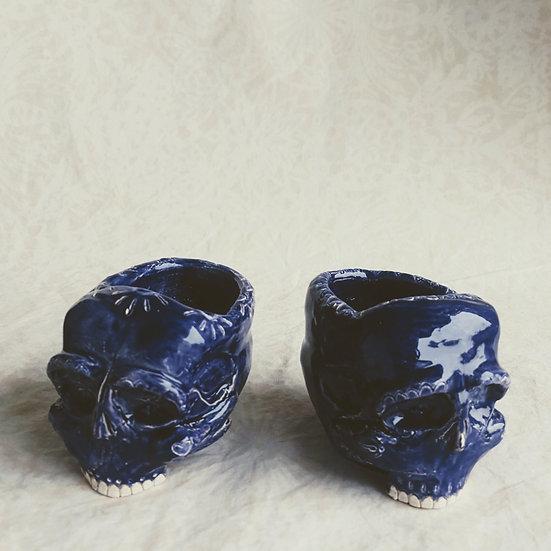 Sugar Skull Bebé Azul