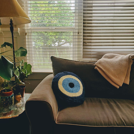 Evil Eye Pillowcase