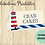 Thumbnail: Nautical Buffet Tent Cards Editable Digital Download