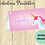 Thumbnail: Food Buffet Tent Cards Unicorn Digital Download