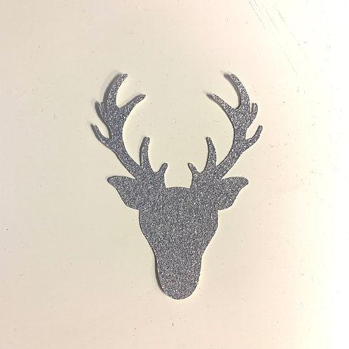 Glitter Deer Shapes Pack (Pick Your Color)