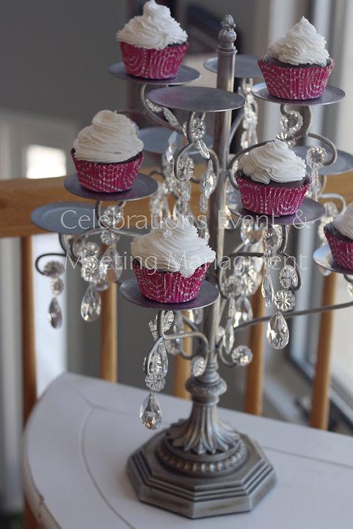 Crystal Cupcake Stand