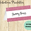 Thumbnail: Food Tent Cards Pink Glitter Digital Download