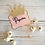 Thumbnail: Glitter Princess Crown Candy Buffet Tags Deluxe Pack of 12