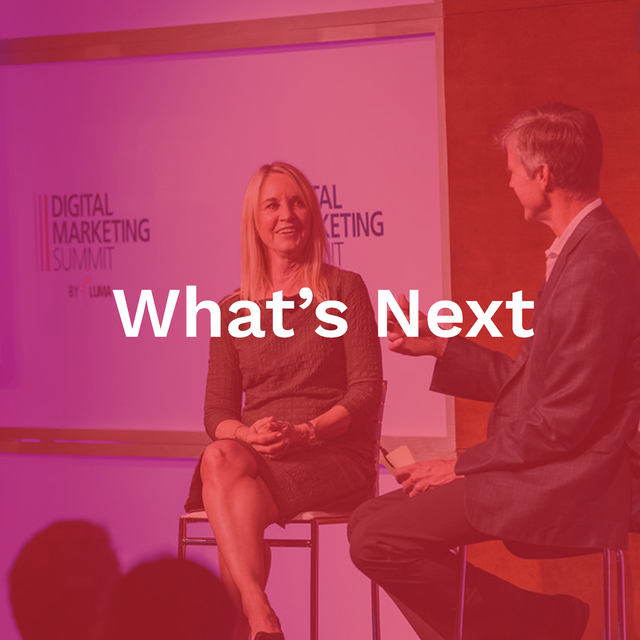 Main stage keynotes, fireside chats, interactive breakouts, and comedy.
