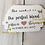 Thumbnail: Perfect Blend Personalized Wedding Favor Tags with Twine