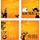 Thumbnail: Food Buffet Tent Cards Halloween Digital Download