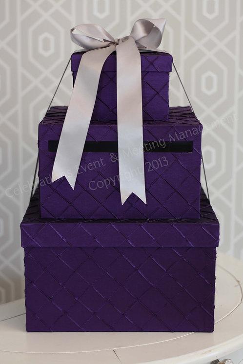 Presents Purple Envelope Box