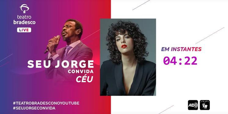 SEU JORGE CONVIDA CÉU