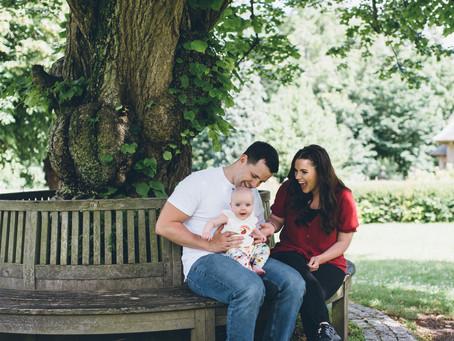 EDINBURGH FAMILY PHOTOGRAPHY                   { JESS, MIKE & WREN }