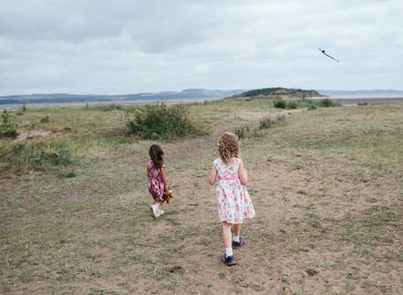 Cramond Beach {Edinburgh Family Photographer}