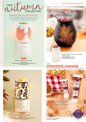 Scentsy Autumn Collection from Aromaz