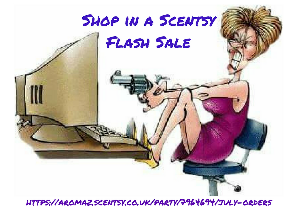 Scentsy Flash Sale