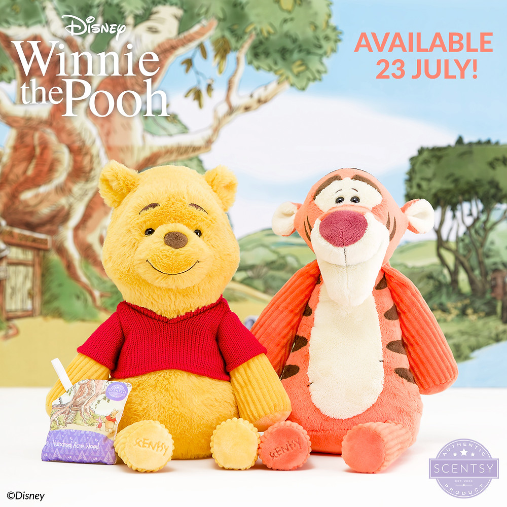 The Disney Collection from Scentsy Winnie the Pooh and Tigger