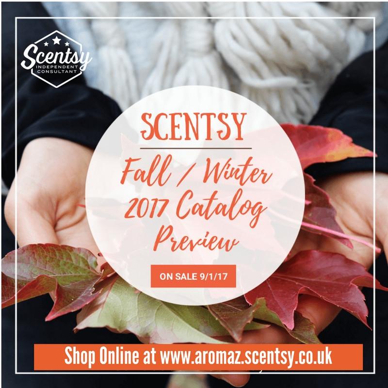 Scentsy Fall Winter 2017 Catalogue