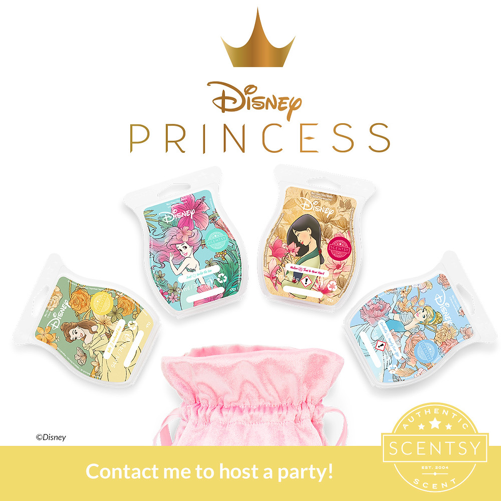 The Disney Collection from Scentsy Princess Collection