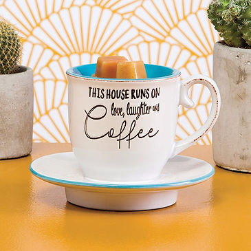 Scentsy Love Laughter Coffee Warmer, Scentsy Cup Warmer, Scentsy Coffee Warmer