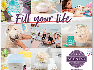 Brand New Scentsy Catalogue 2020