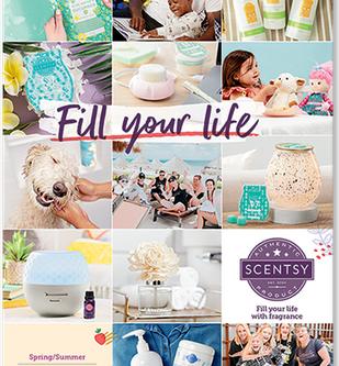 Brand New Scentsy Catalogue 2020