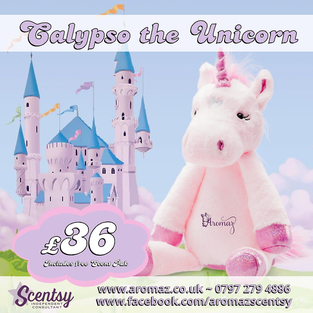Scentsy Calypso the Unicorn Buddy £36