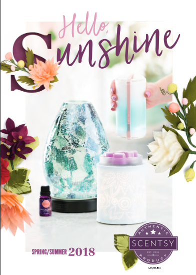 Scentsy Spring Summer 2018 Catalogue