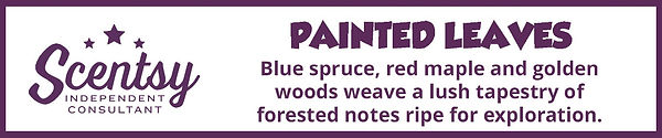 Scentsy Painted Leaves Fragrance Description