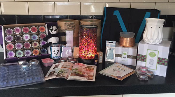 Scentsy Fundraiser Display