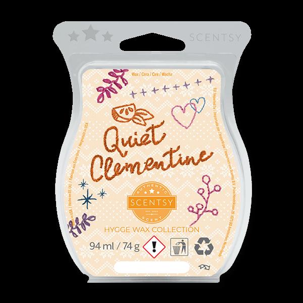 Quiet Clementine Scentsy Wax Bar