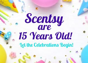 Scentsy Celebrates their 15th Birthday!