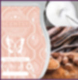 Scentsy UK New Release Sweet Cream Spice Wax Bar