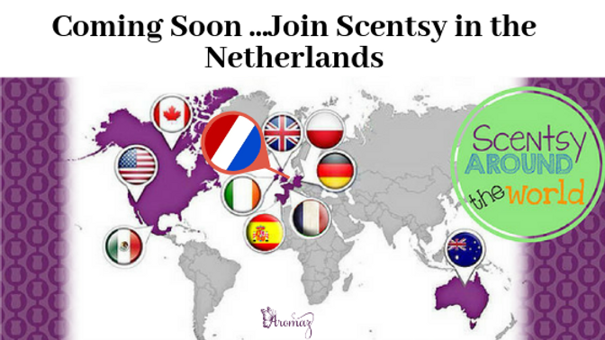Coming Soon ...Join Scentsy in the Nethe