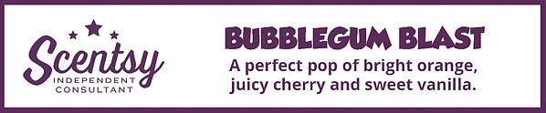 Scentsy Bubblegum Blast Description