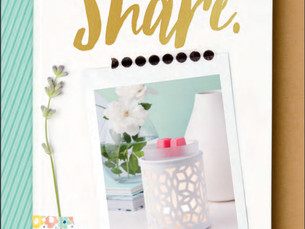 New Scentsy Spring /Summer 2017 Catalogue