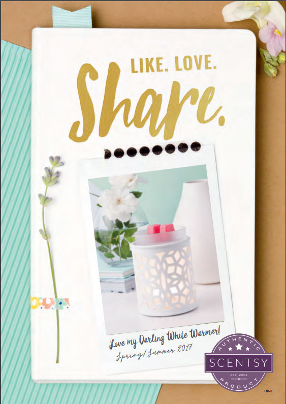 Scentsy Spring/Summer 2017 Catalogue