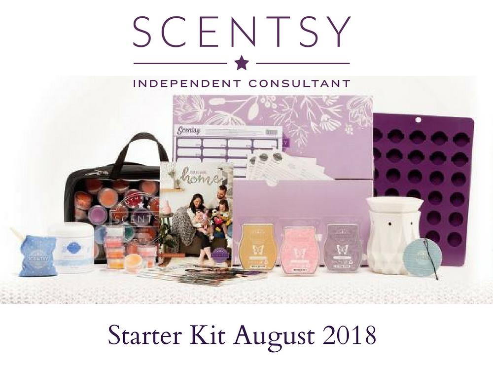 Scentsy Starter Kit August 2018