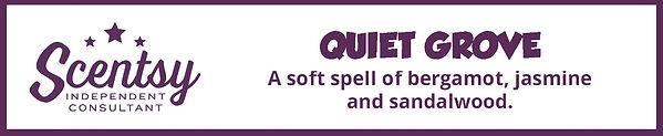 Scentsy Quiet Grove Fragrance Description